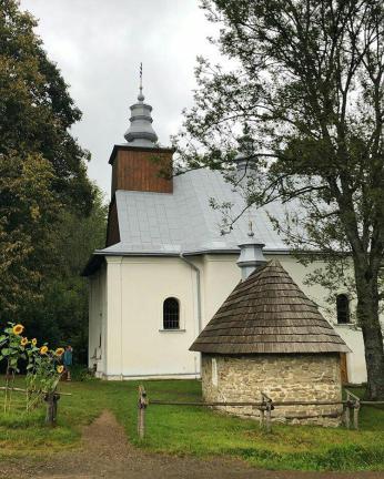 Cerkiew w Lopience. Bieszczady z jaktoblisko.com Fot. GrubyWalek