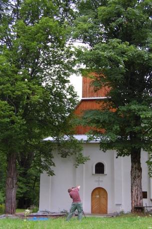 Cerkiew w Lopience. Bieszczady z jaktoblisko.com