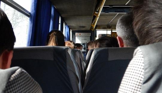 Jezus w autobusie relacji Lwów - Turka