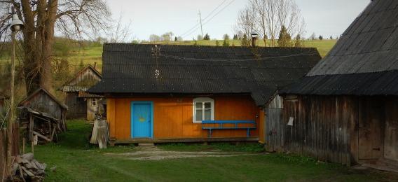Libuchora - niebieskie drzwi