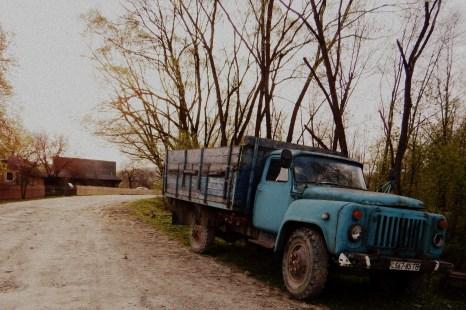 Niebieski GAZ 53 - Libuchora