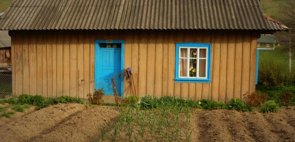 Pierwsze domy w Libuchorze