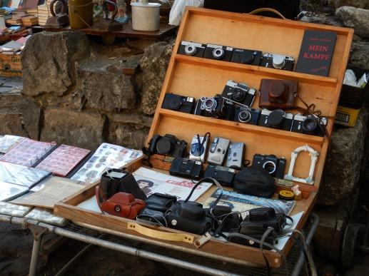Stare aparaty - Lwów, pchli targ